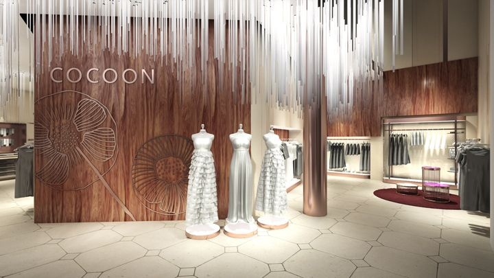 Cocoon Betu store by Storeage China
