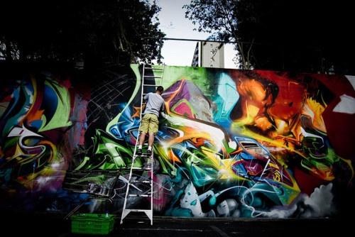 god damnnnnnnnBeautiful Graff, Nice Wall, Street Art, Needle Work, Pretty Stuff, God Damnnnnnnn