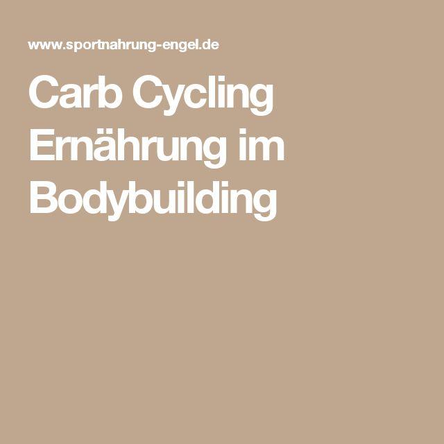Carb Cycling Ernährung im Bodybuilding