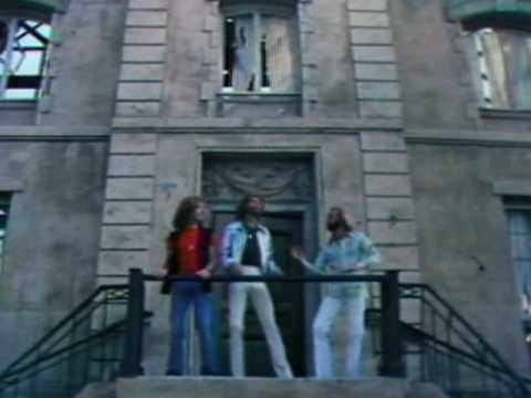 Bee Gees - Stayin' Alive (Official Video) ~ Well, you can tell by the way I use my walk, I'm a woman's man: no time to talk. Music loud and women warm, I've been kicked around Since I was born. And now it's all right. It's OK. And you may look the other way. We can try to understand The New York Times' effect on man....