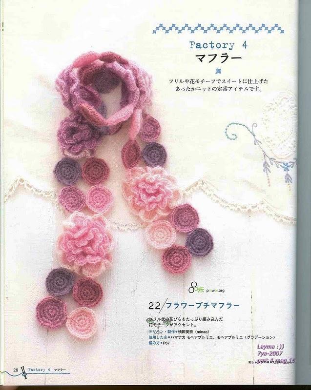 Japanese crochet:  22  -- devilbox