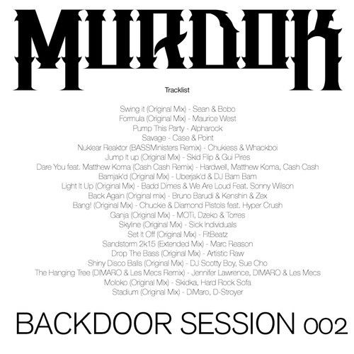 Backdoor Session 002 by Murdok on SoundCloud