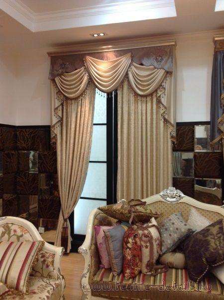 Шторы в классическом стиле – фото работ. Дизайн и пошив штор в стиле Классика | Салон «Текстильные штучки»