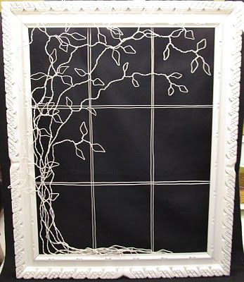 Wire   and Crafty  Trees shoe jordan box Frames Ronda   Wire on   Runyan Spencer and