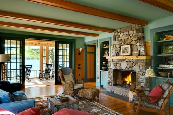 Die 10 Regeln für ein komfortables Seehaus - http://wohnideenn.de/innendesign/08/komfortables-seehaus.html  #Innendesign