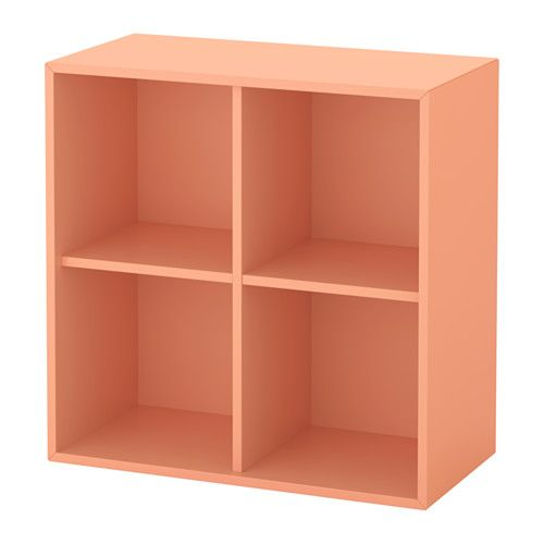 EKET Skab med 4 rum - lys orange - IKEA