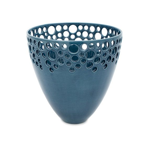 Small+Lacey+Bee+Bowl+in+Nairobi+Blue+by+lawrencemcrae+on+Etsy,+$170.00