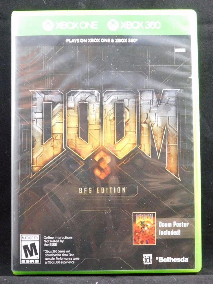 Doom 3 -- BFG Edition (Microsoft Xbox 360, 2012)