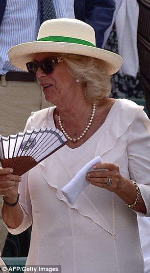Camilla auctions off Andy Murray's sweaty wristband #dailymail