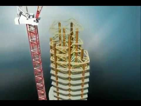 Burj Khalifa (Burj Dubai) Construction - Animation - U.A.E.