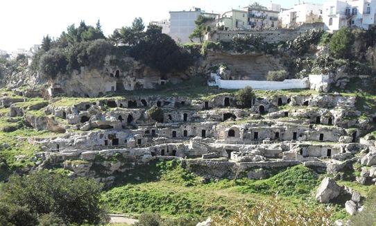 Case sotterranee di Ginosa