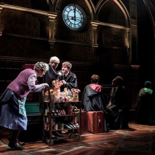 Productions shots of Harry Potter and the Cursed Child