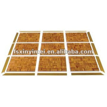 Easy Lay Wooden Portable Dance Floor For Events $75~$100