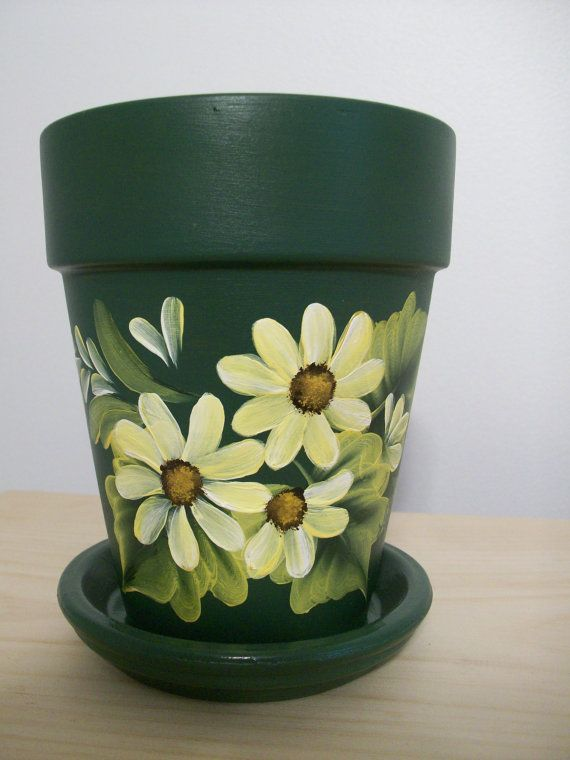 Image result for painted clay pots