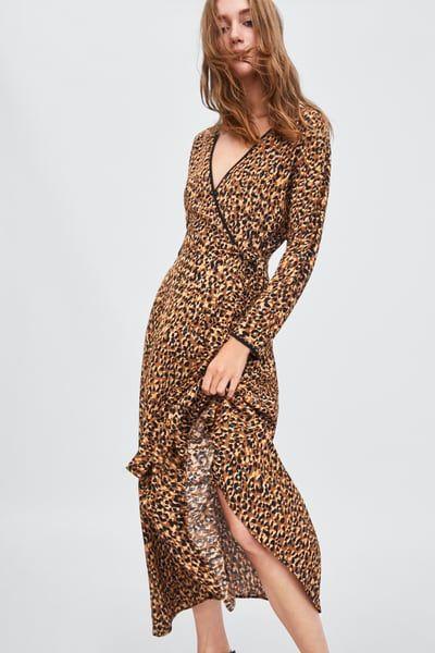 ff091f5f2 Image 2 of ANIMAL PRINT DRESS from Zara | Fashion | Animal print ...