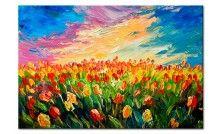 Vedi il quadro Sea of Tulips e altre decorazioni murali nella galleria di bimago - quadri per pareti, quadri trittici, reproduzioni e foto su tela.