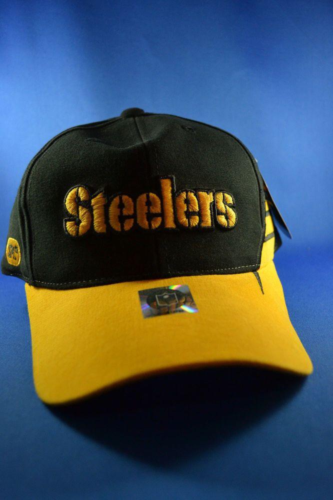 9eee01f766b NFL Pittsburgh Steelers SPL Hat w  Adjustable Velcro Back NEW w  Tags!