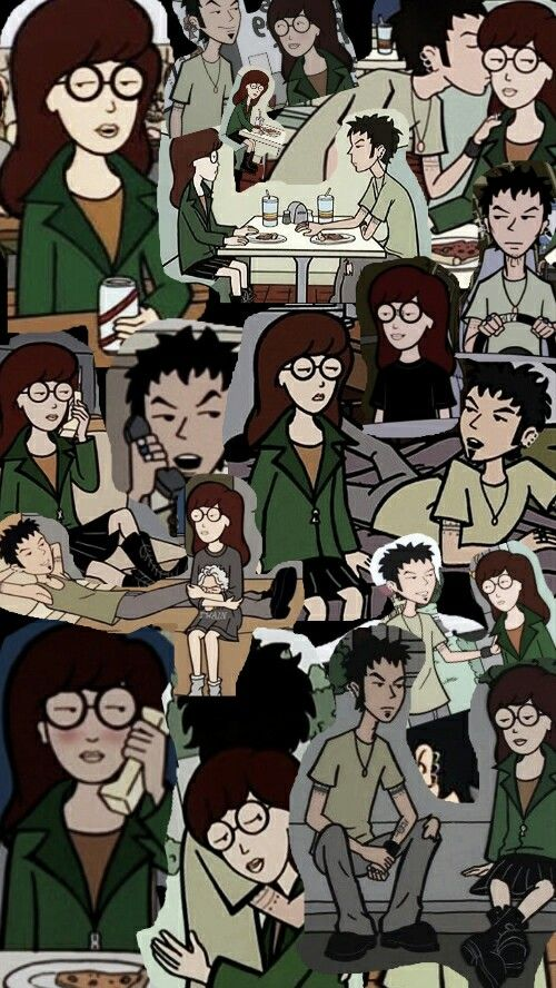 Daria Morgendorffer and Trent Lane --- i got spoiled about their situation, but..i still ship them with all my heart, pretending i dont know a thing :p