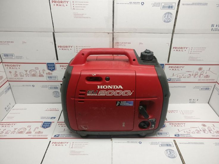 Honda EU2000i 2000 Watt Generator RUNS GREAT!
