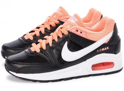 the latest 2d096 e48c1 Chaussures Nike Air Max Command Flex LTR Junior noire vue extérieure