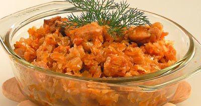 Тушеная капуста с колбасой – традиционная кухня Германии