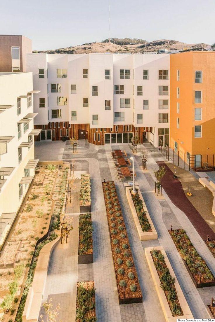 建築家が選んだ、最高峰の住宅デザイン10選 集合住宅 ベイビュー・ヒル・ガーデンズ カリフォルニア州サンフランシスコ