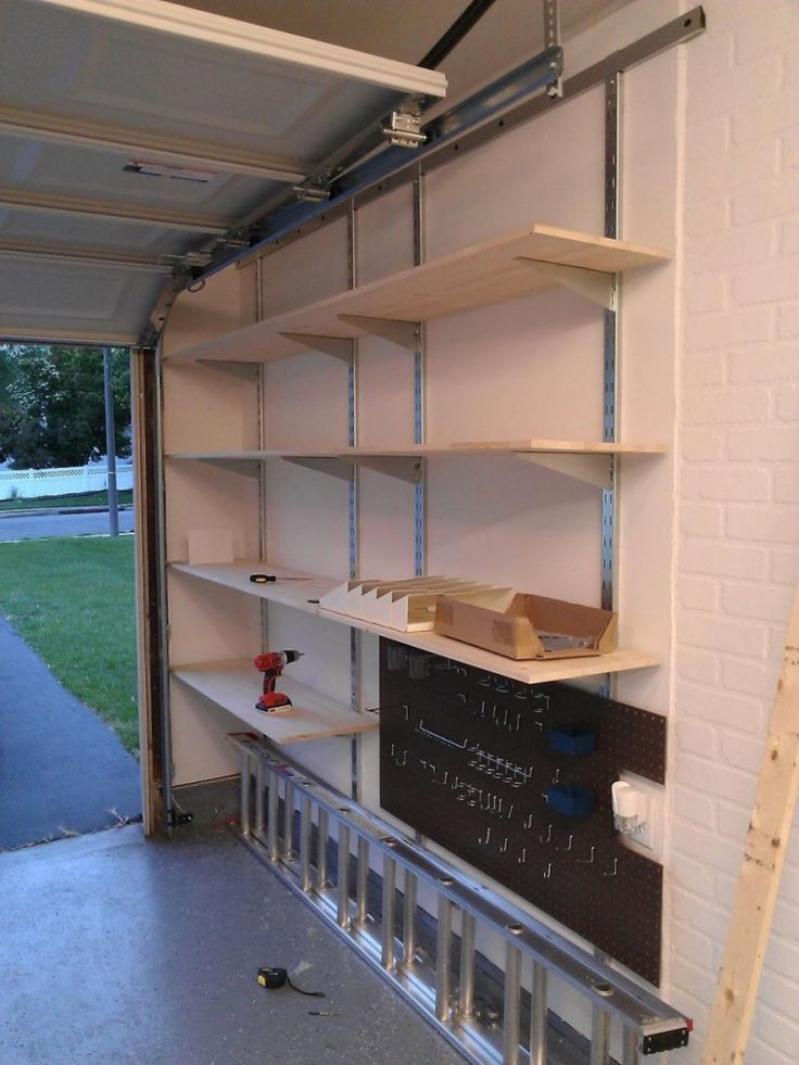 2x4 garage hanging shelving ideas - Best 25 Garage shelving ideas on Pinterest