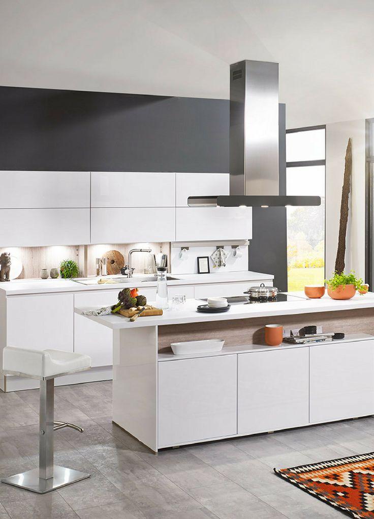 Küchenzeile modern hochglanz  97 besten Weiße Küchen: Küchen-Design ganz in Weiß Bilder auf ...