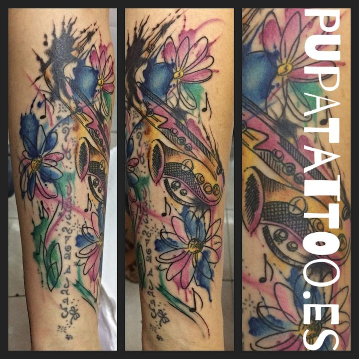 https://flic.kr/p/LAkzn7 | Tatuaje Saxofón acuarela Pupa Tattoo Granada | by Marzia Instagram : instagram.com/pupa_tattoo/ Web: www.pupatattoo.es/ Citas: 958221280 #tattoo #tattoos #tatuaje #tatuajes #tattoogranada #ink #inked #inkaddict #timetattoo #tattooart #tattooartists