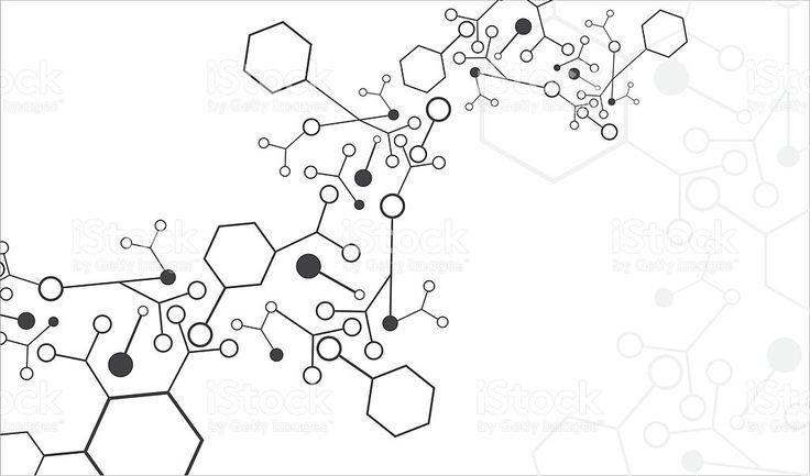 Molécula de fondo illustracion libre de derechos libre de derechos