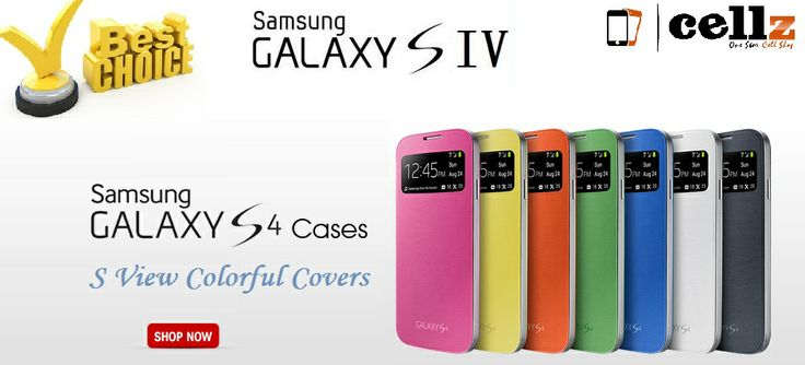 Samsung Galaxy S4 Popular Case Cover  S View Colorful Covers For Galaxy S4 #samsungcase #galaxys4 #case #cellz.com #covers #sview $5.92