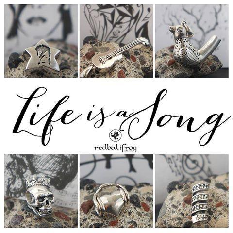 Redbalifrog Collezione : Life is a Song La Vita è Una Canzone  Disponibile nel nostro sito web : www.gold-jewels-italy.com