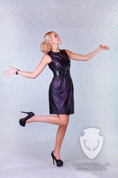 Party Collection by Mariela Pokka - Rhinestone Dress