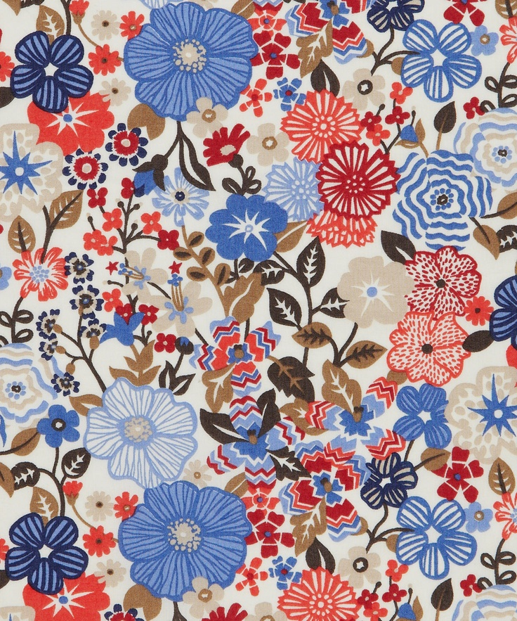 Beths Flowers C Tana Lawn, Liberty Art Fabrics. Shop more from the Liberty Art Fabrics online at Liberty.co.uk