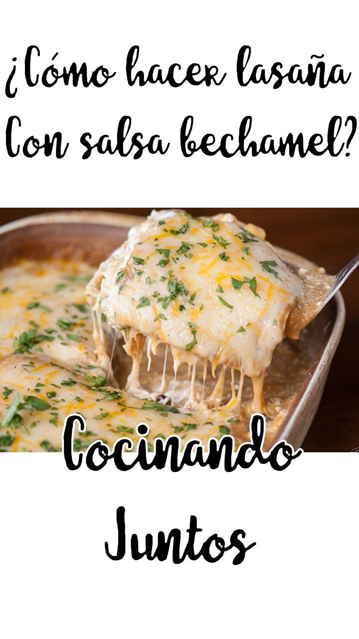 ¿COMO HACER LASAÑA Y SALSA BECHAMEL FÁCIL Y RÁPIDO?   Ingredientes carne:    -Sal de ajo   -Sal   -Salsa negra   -Salsa teriyaki   -Aceite    Ingredientes salsa bechamel:  -Harina de trigo   -Mantequilla   -Sal -Nuez moscada    Lasaña:    - Lonjas de pasta para lasaña   - Queso parmezano    - Carne molida   -Salsa bechamel