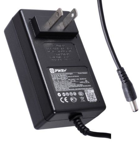 Pwr+® Extra Long 6.5 Ft Cord AC Adapter for Seagate & WD external HDD ; Belkin, Netgear, Motorolla, Linksys Wireless Router / Cable modem Ubee Lei Charger Switching Power Supply Cord Plug Input Voltage Range: AC 100V - 240V / Output Voltage: DC 12V 2A (1A compatible) / Brand-new. PWR+ ac adapters are made with the highest quality materials. Safeguard features against incorrect voltage, short circ... #PWR+ #PCAccessory