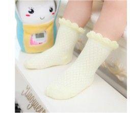 Ультра-мягкие кружева ажурные летние детские носки смягчиться бескостного шва и WY01 #men, #hats, #watches, #belts, #fashion, #style