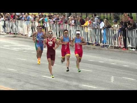 2015 ITU World Triathlon Chicago - Elite Men's Highlights - YouTube