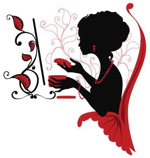 парижанка перед зеркалом - Схемы вышивки - juliete - Авторы - Портал «Вышивка…