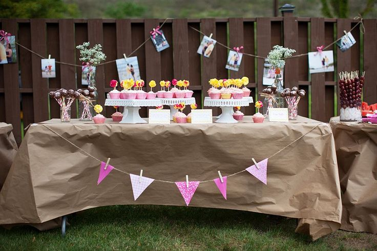 50 backyard bridal shower ideas 48