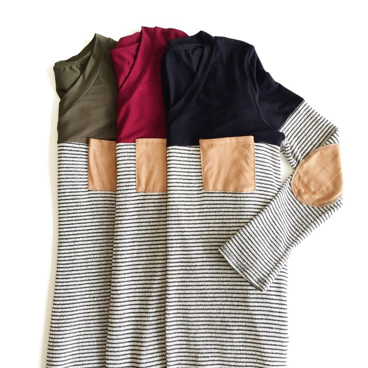 Striped long sleeve tops | ROOLEE