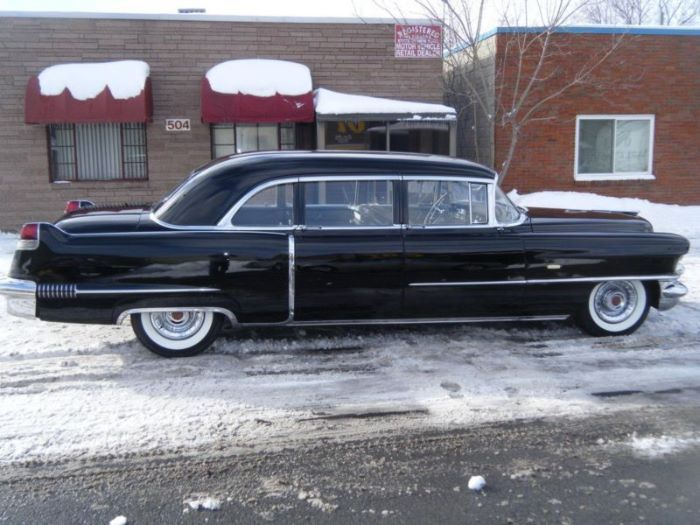 1956 Cadillac Fleetwood 75 Limousine For Sale | All Collector Cars