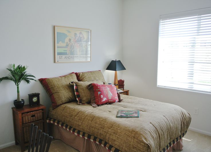 The Second Bedroom   Golf Themed. | Latitude Interiors | Pinterest |  Bedrooms