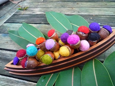Dyed and Gone to Heaven: Gum Nuts