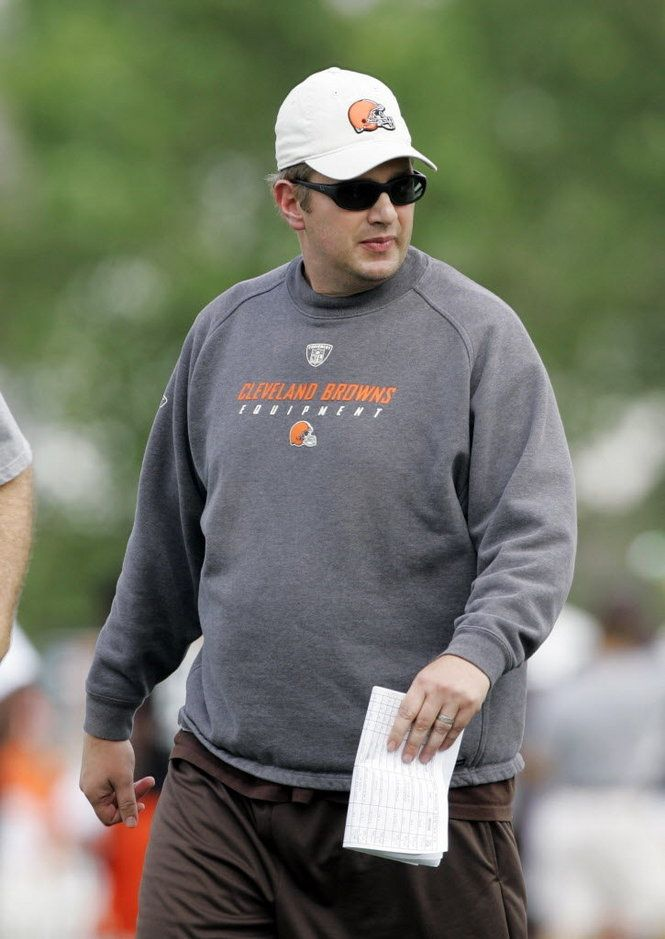 Rob Chudzinski....No big deal... just my relative is the Browns head coach.