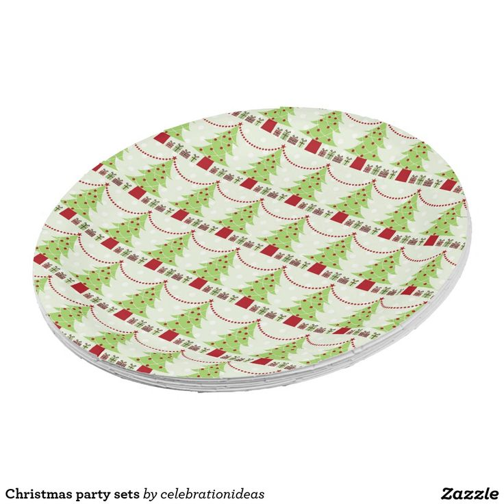 Christmas Party Paper Plates Part - 16: Christmas Party Sets · Christmas PaperChristmas PartiesPaper Plates