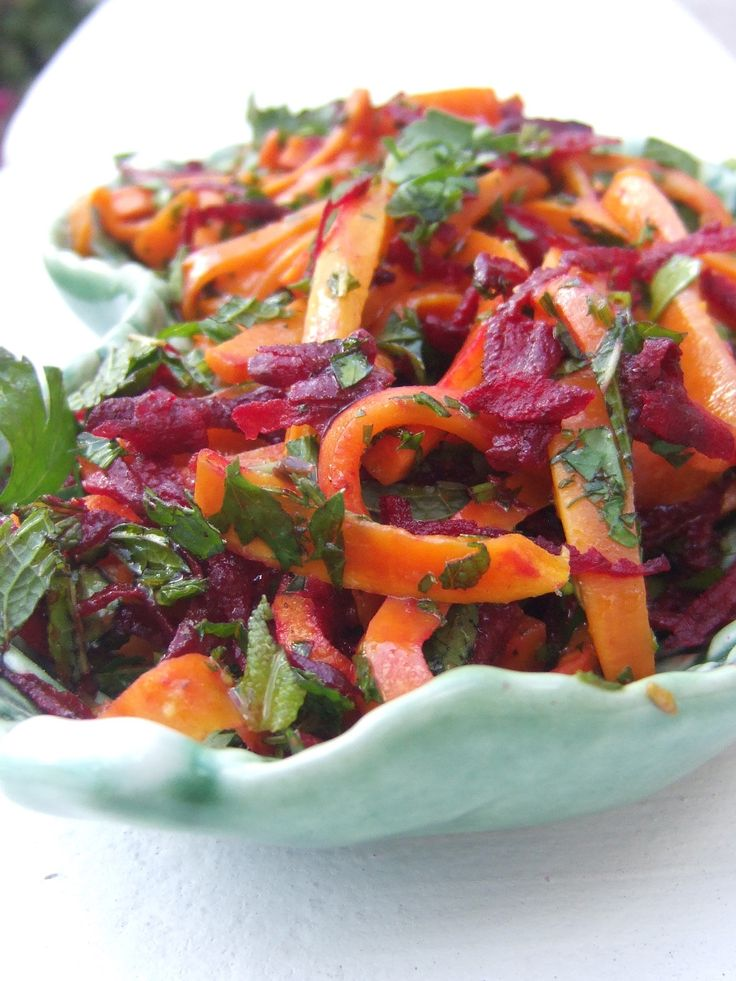 Salada Betteraba e cenoura