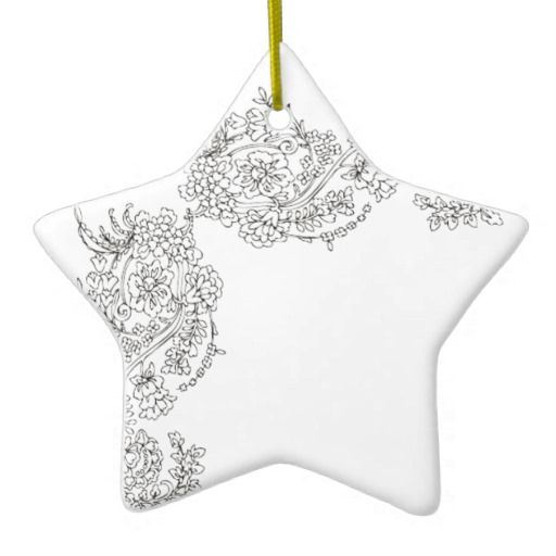 Vintage Lace Tattoo Look Ornament | Zazzle