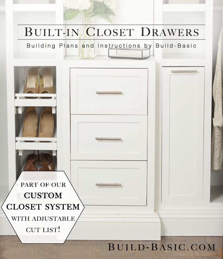 Welcome to The Build Basic Custom Closet System! In this Series, I'm showing how to make a handful of simple DIY components that come together to create a functional, beautiful custom …