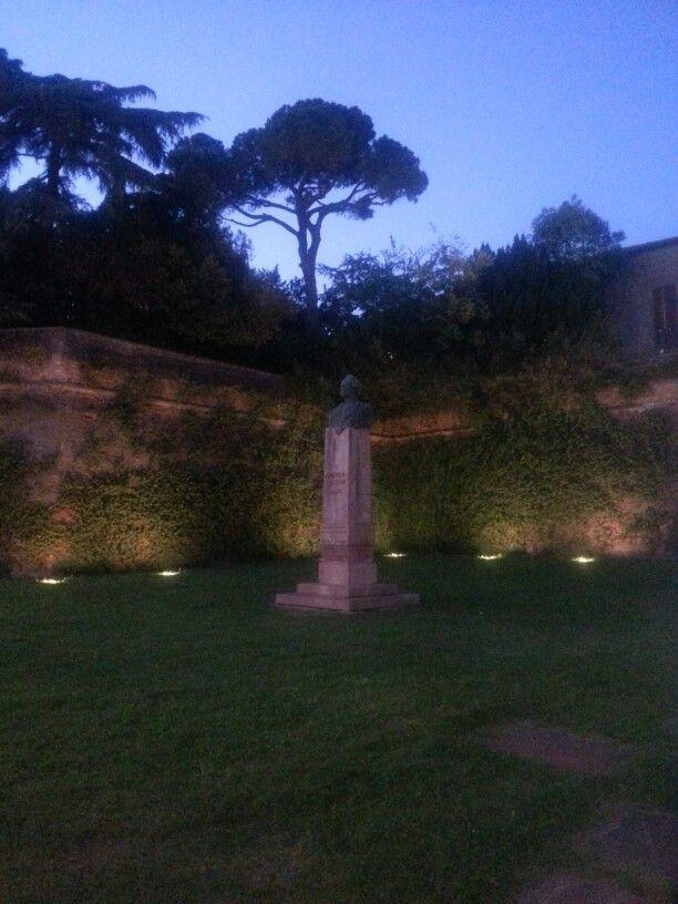 Lugo - Emilia Romagna - Ravenna - Italy  Monumento Andrea Costa